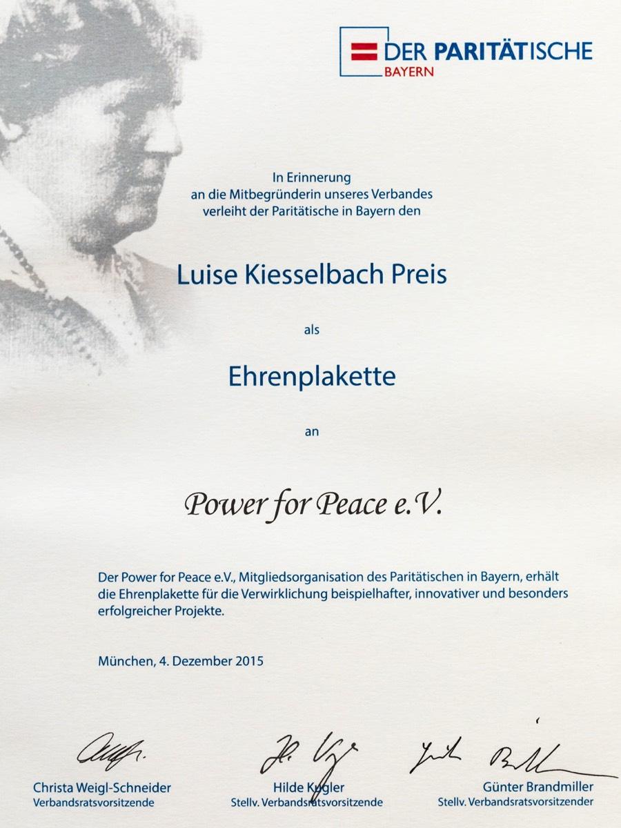 Power For Peace E V Educational And Preventative Programs